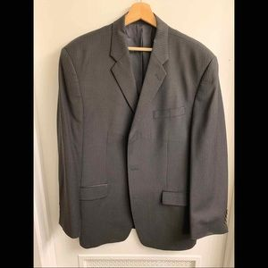 Calvin Klein CK Men's Pinstripe Suit Jacket Sz 42R